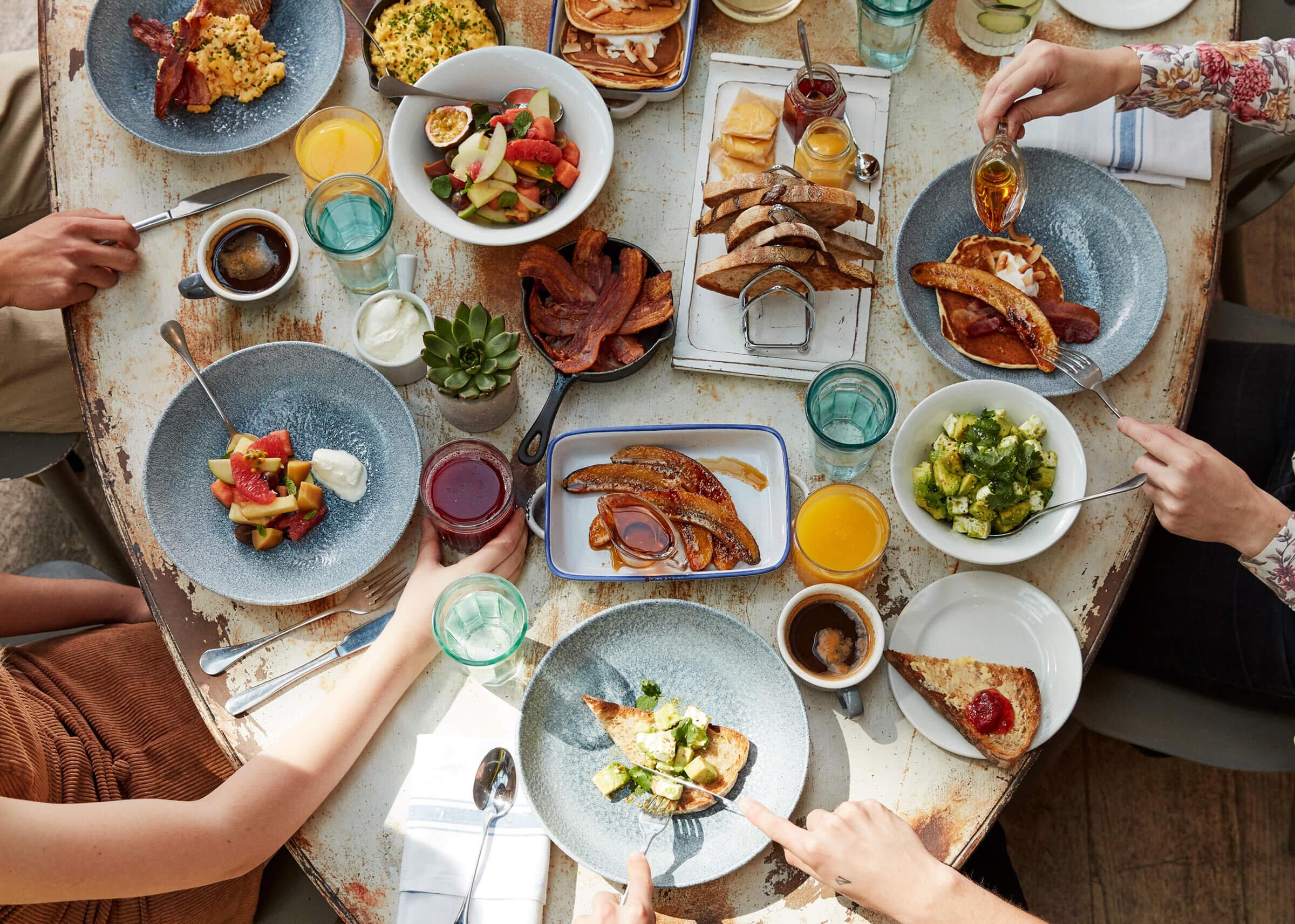 Breakfast - Served 7 days a week, 9am-11.30am