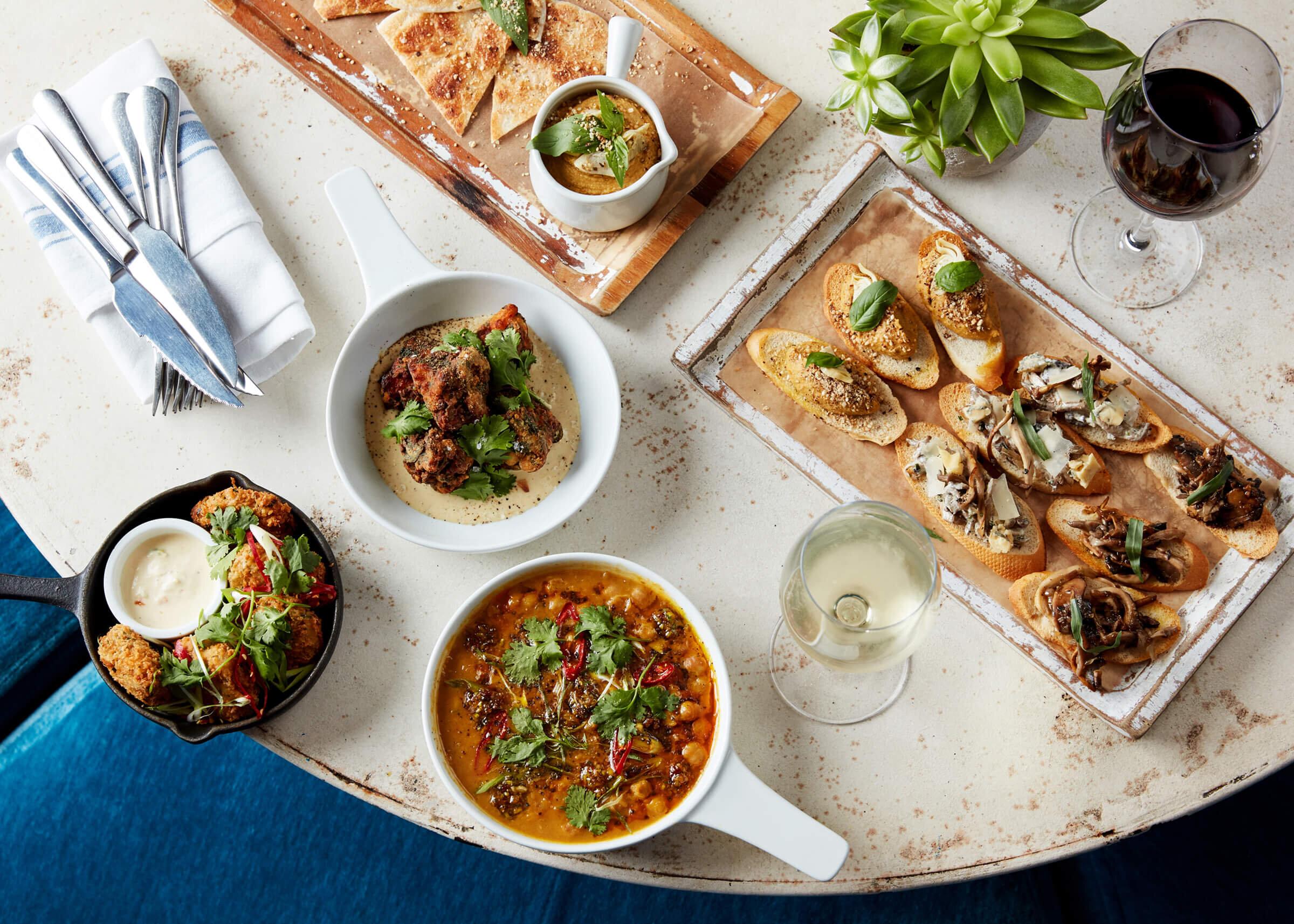 Set menus -