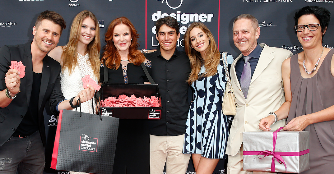 best authentic best online shades of Desperate Housewives Star Marcia Cross at the Designer ...