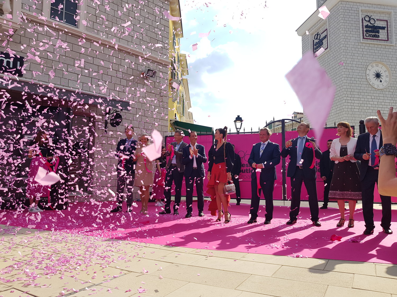 Grand Opening Of The Designer Outlet Croatia Ros Retail Outlet Shopping