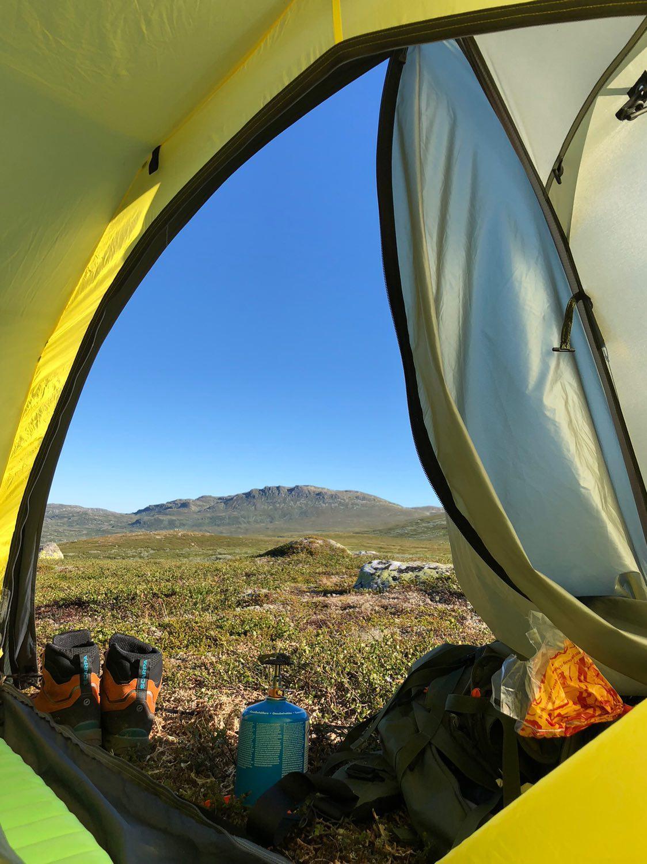 Gratis camping i hele fjellet!