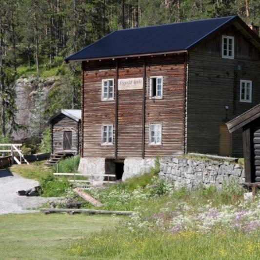 Eggedal mølle  - bygd i 1912
