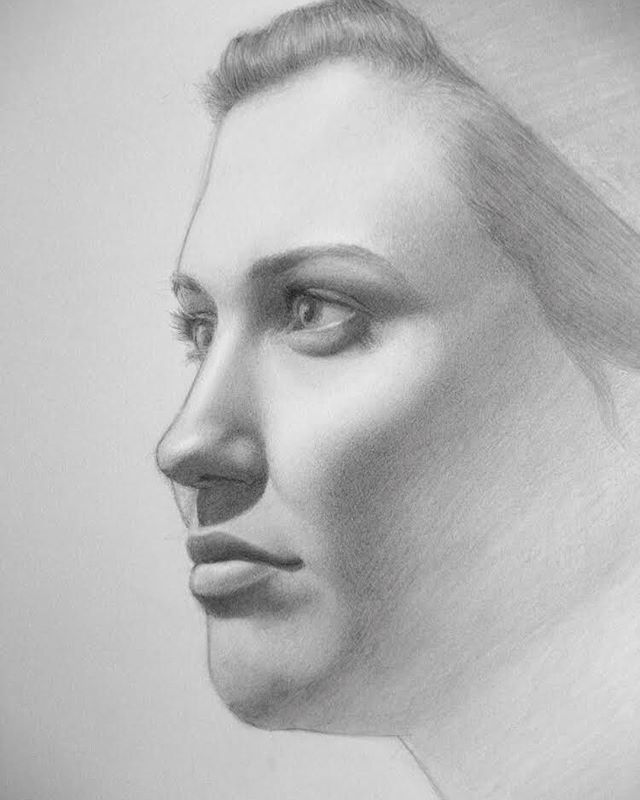 Throwing it way back, portrait study with pencil #tbt #portraitdrawing #art #drawingfromlife #sketched #lovetodraw #artistofinsta #contemporaryrealism #realisticdrawing #humanface #instartist #portraitcommission #graphitedrawing #portraitsketch #realisticdrawing