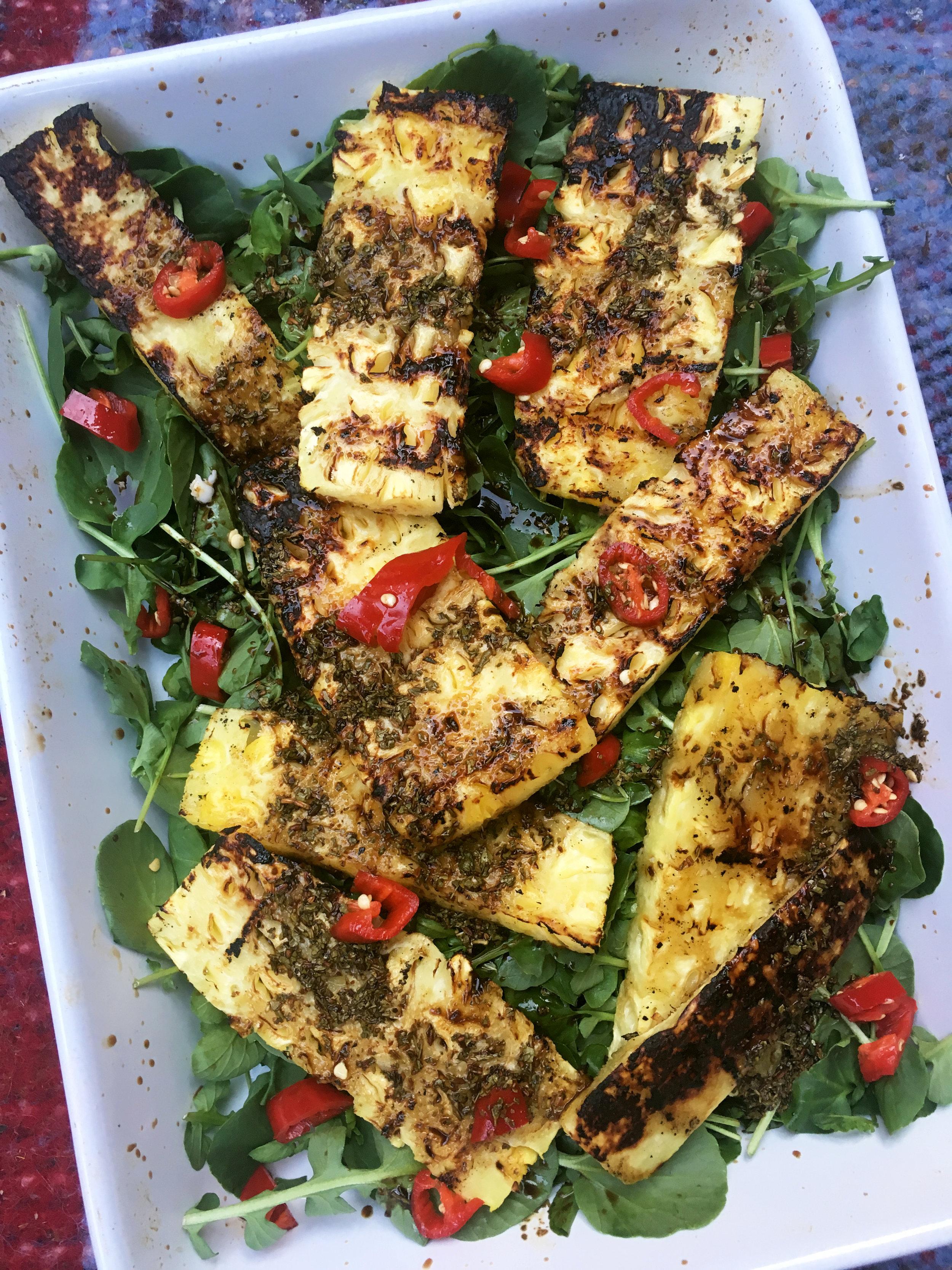 Ruby Dhalay - Grilled Pineapple & Tamarind Salad.jpg