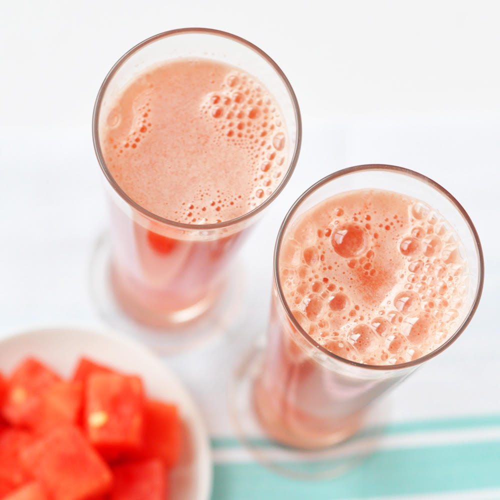 Watermelon Fresh - Three refreshing recipes featuring uber-cooling watermelon.Click below for how to make watermelon coolers, watermelon ice lollies, and watermelon slushies.