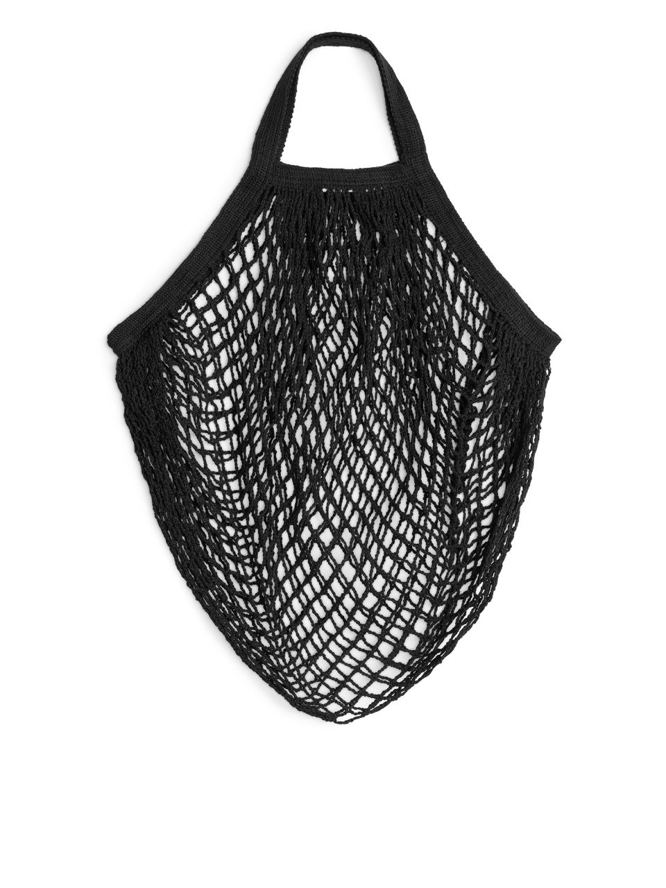 Look good and get all your shopping in this GOTs Certified string bag also available in long handle and in cream. Visit    https://www.bigpicturecollective.com/sho/organic-black-string-bag-short-handle