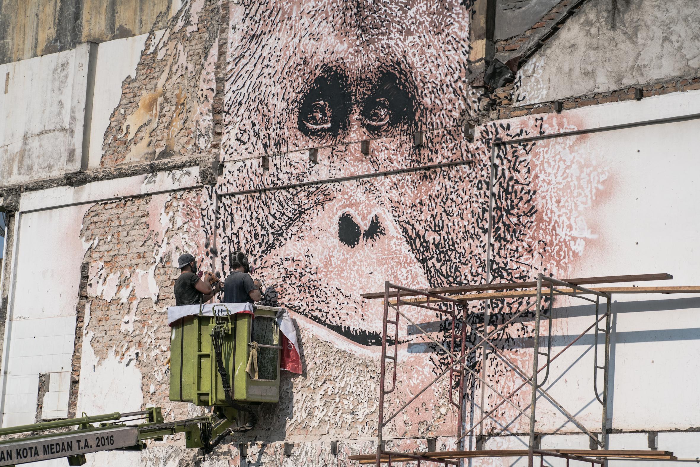 Alexandre Farto aka VHILS in Progress Image Credit Skaiste WIP.jpg