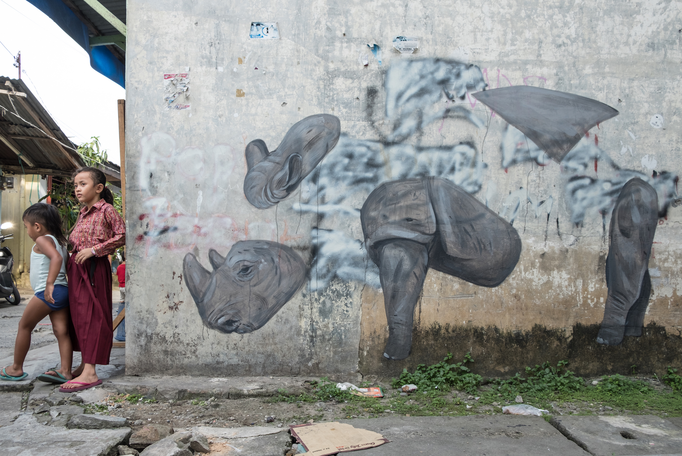 Escif Rhino splash and Burn 2019 Photo Credit Ernest Zacharevic .jpg