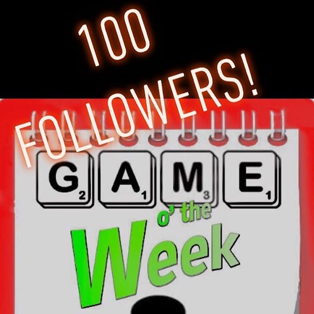 100 followers! Thanks so much to all of you wonderful board-game-aholics! We're over the moon excited about making this podcast and growing a great little community of game lovers! Thanks! -The GotWeek Gang  #boardgames #cardgames #tabletopgames #gameotheweek #podcast #tabletop #card #board #doesthatboxmakethefartnoise