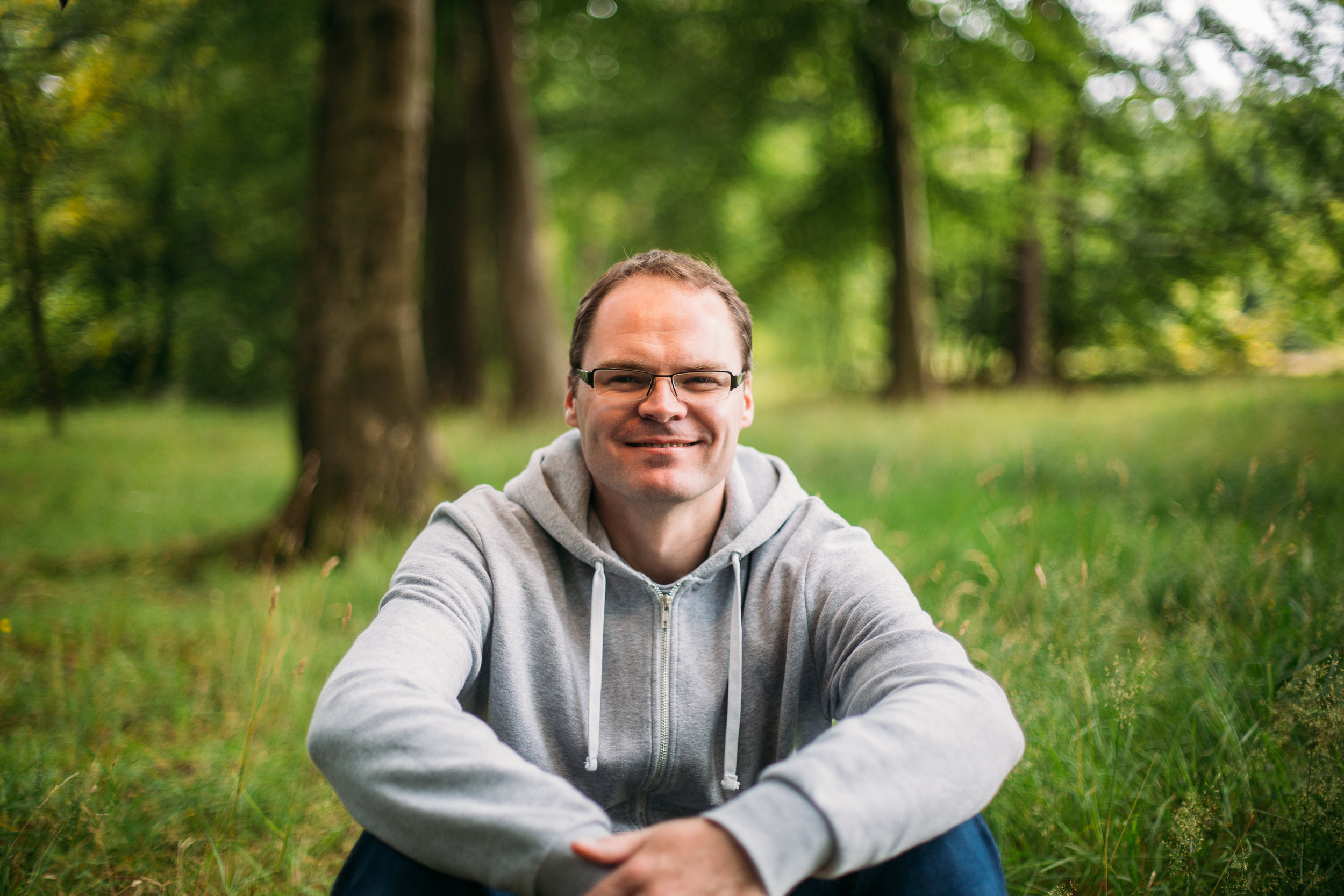 A photo of Marc Bowker, owner of web design company Site Owl.