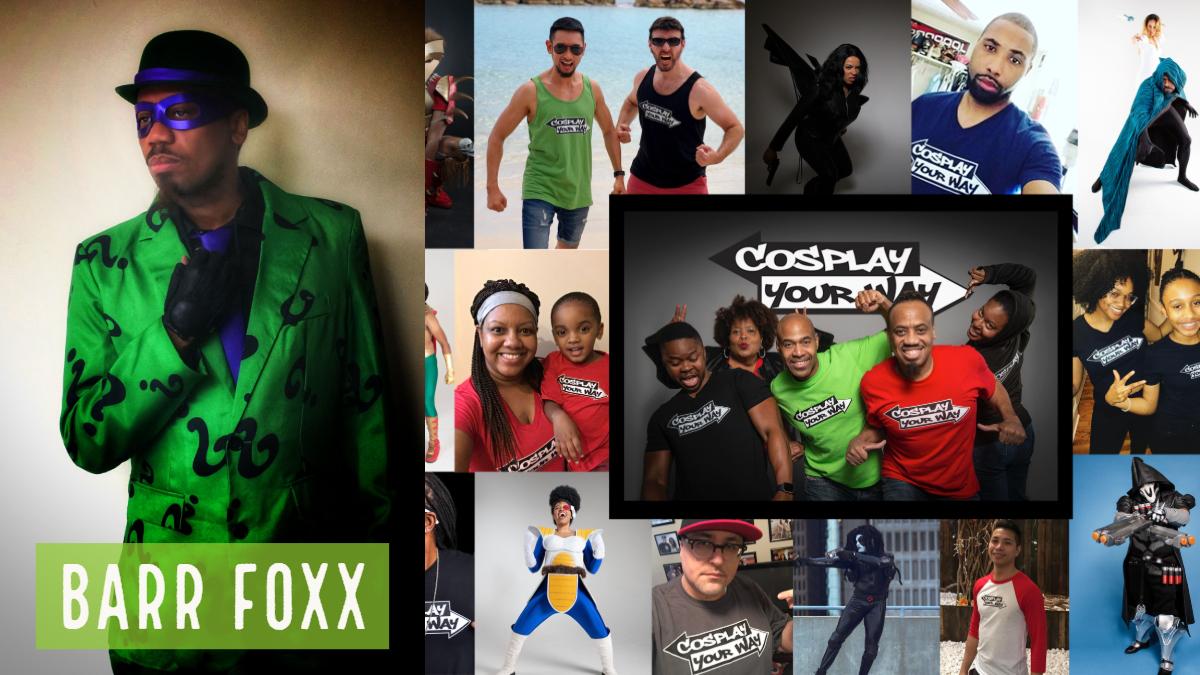 Barr Foxx Cosplay