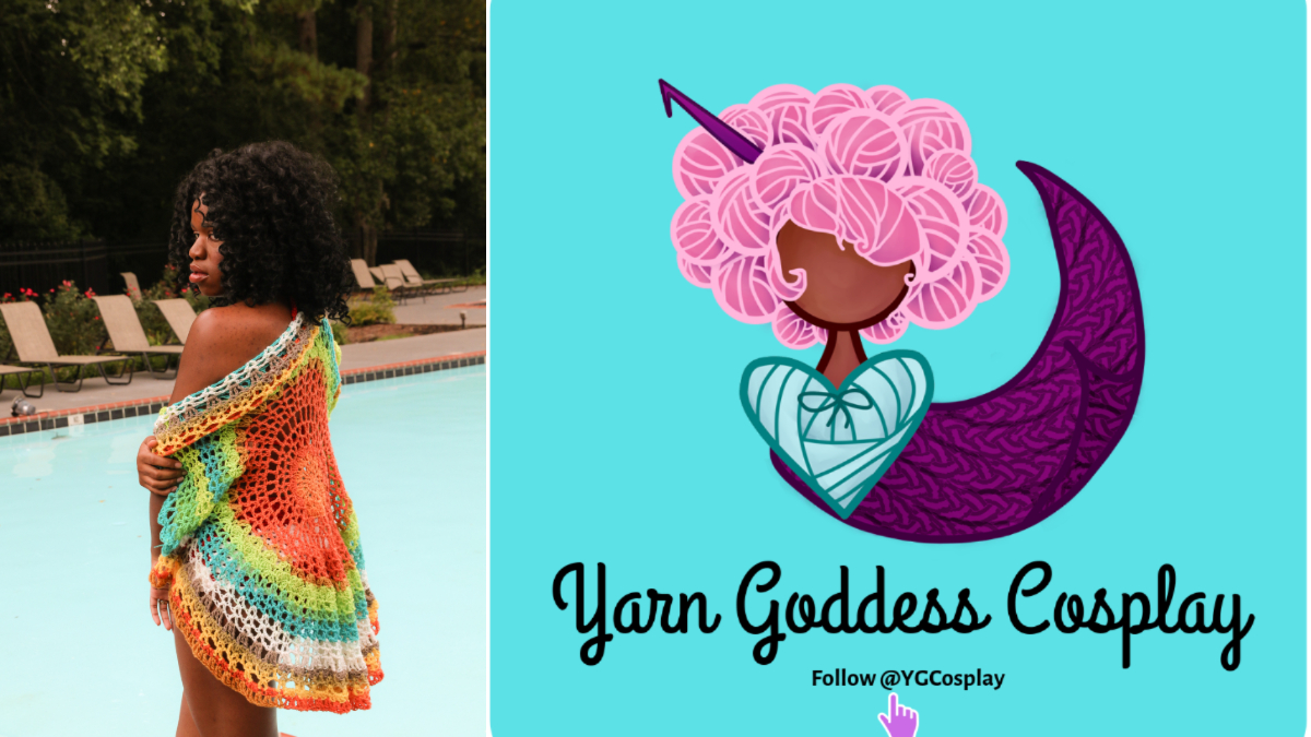 Yarn Goddess Cosplay