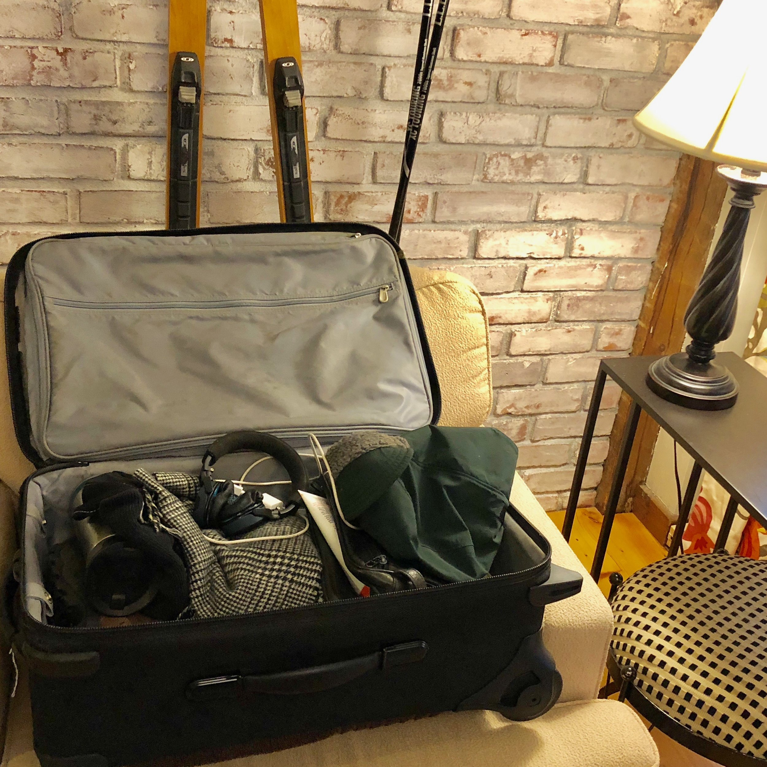 My bag was packed for Gunstock, then unpacked ...