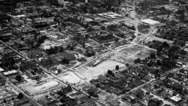 The construction of I-75/85 also meant deconstruction for Sweet Auburn