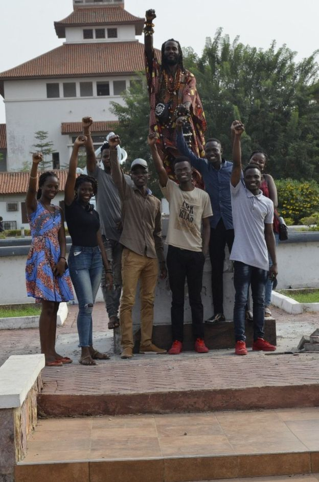 'Racist' Gandhi Statue Removed from University of Ghana.jpg