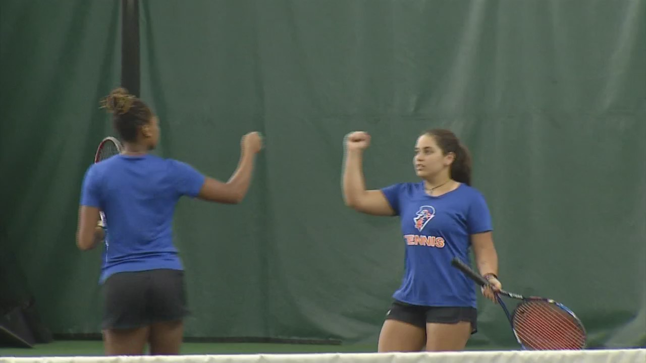 College Tennis Zimbabwe's Tasha Dembo and Egypt's Yusra Hegy Reunite at U-Mary after Playing Doubles Back Home-Teen-Tate.jpg