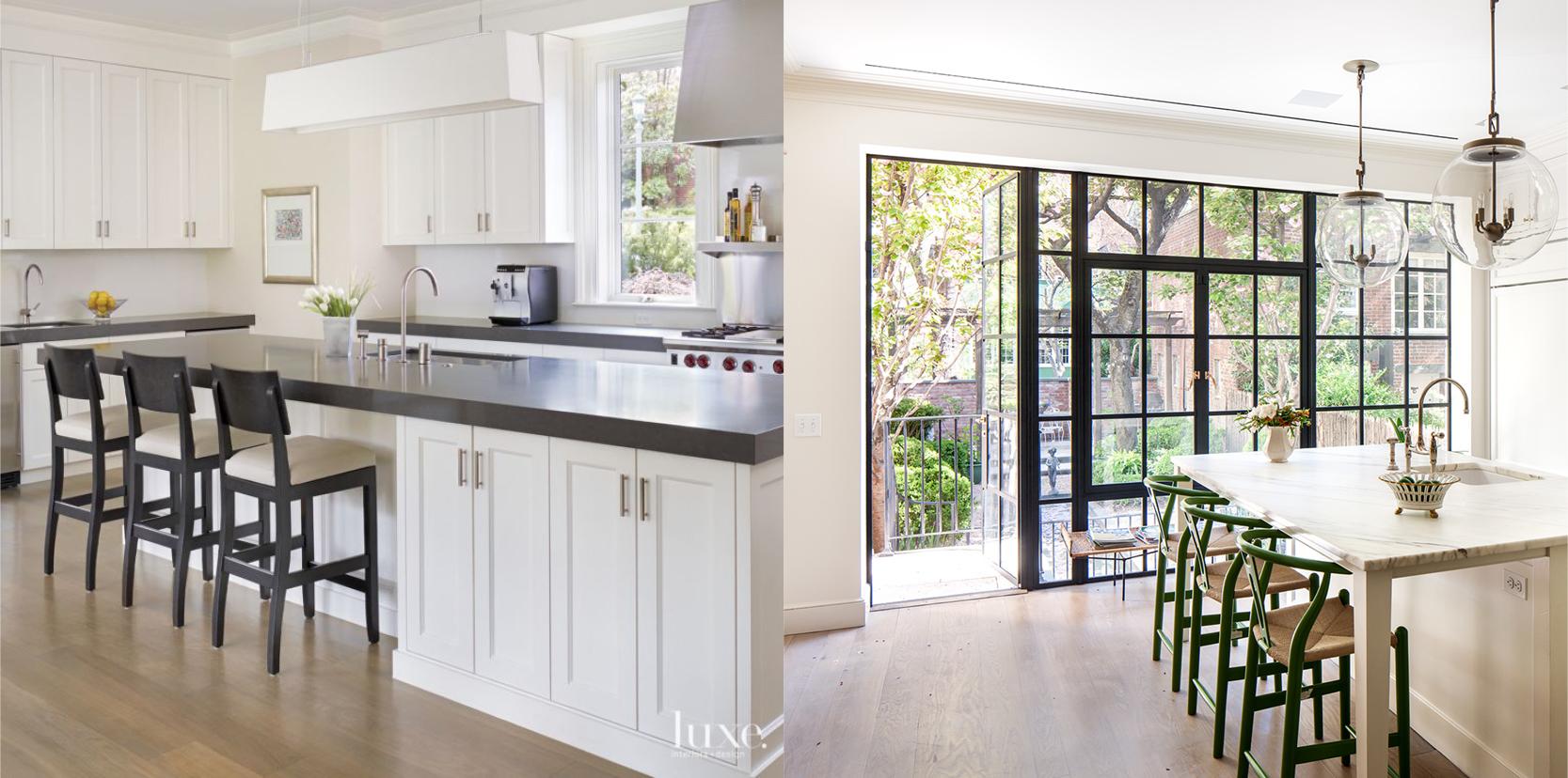 Light Wood Floors in Kitchen — Paula E Guzman