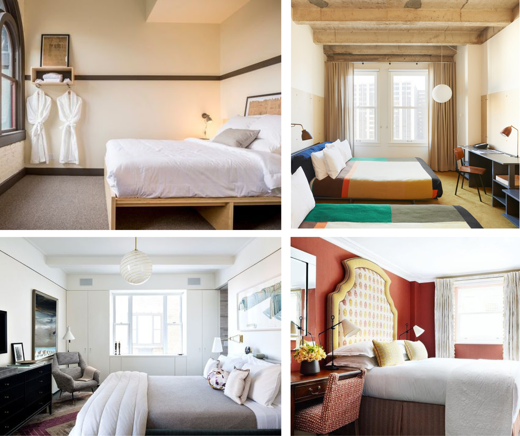 BOUTIQUE HOTEL ROOM INSPIRATION