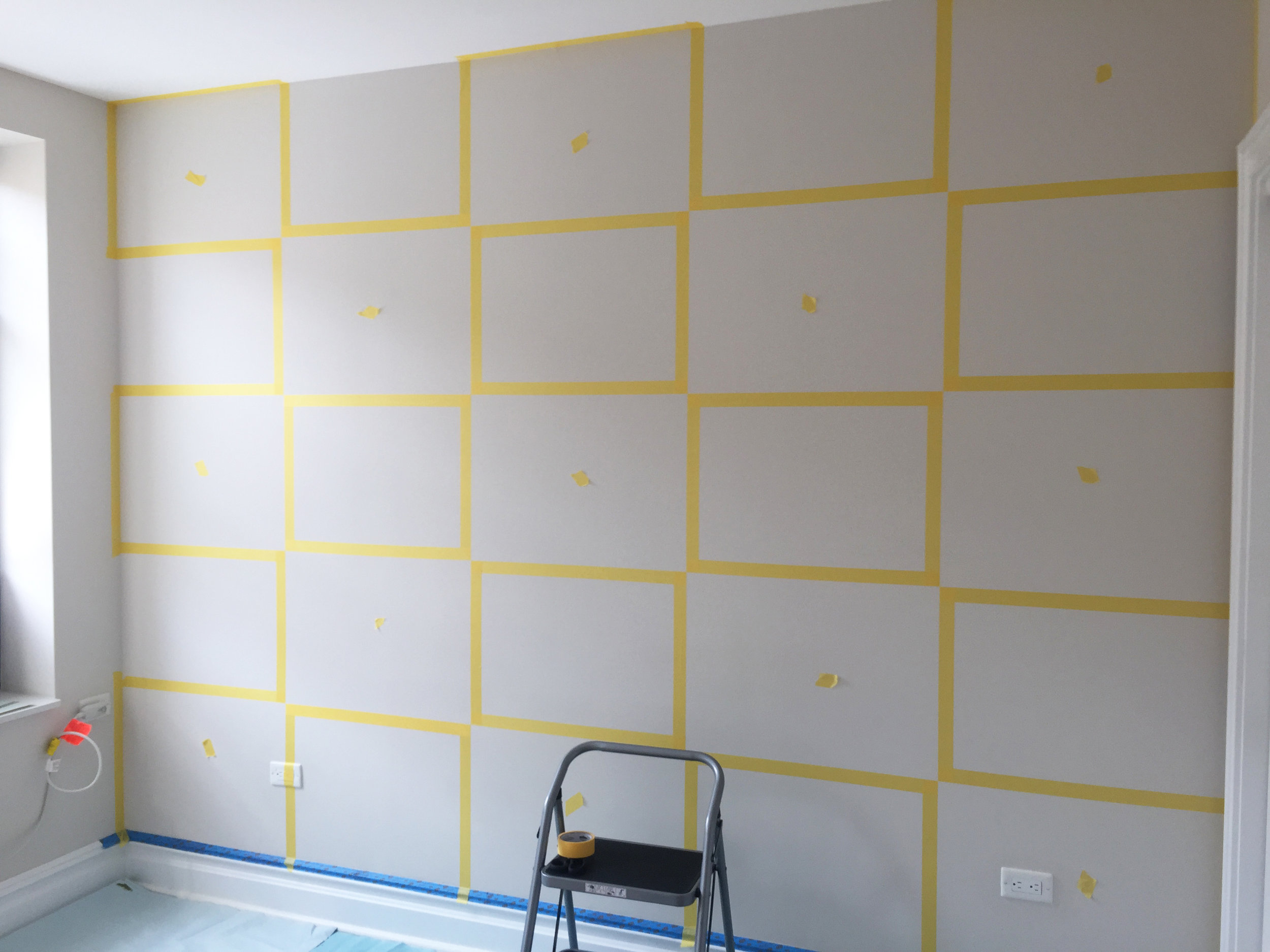 FOCAL WALL PAINT PREP