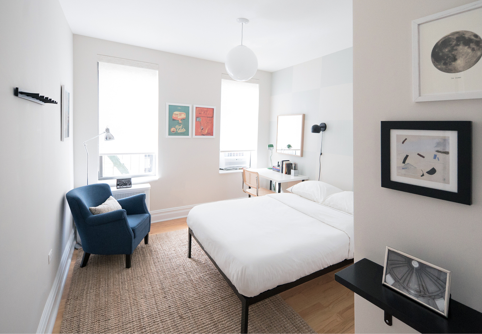 SUN DRENCHED AIRBNB GUEST ROOM