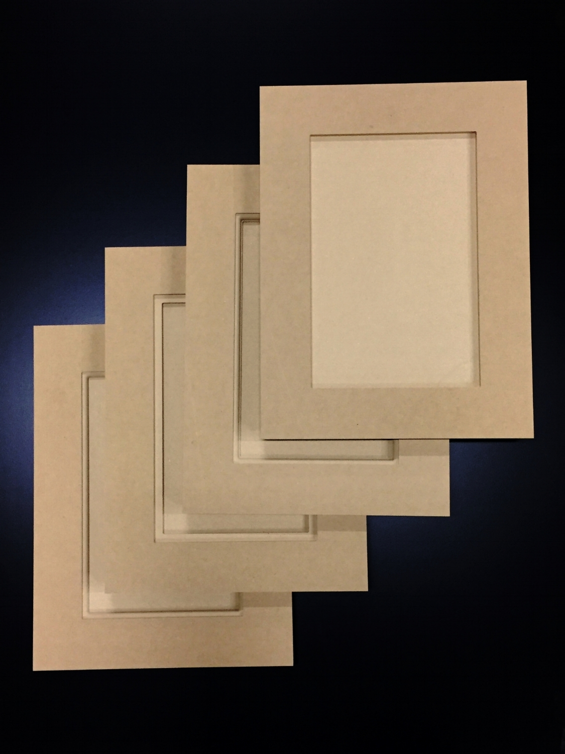 MDF Cabinet Doors  - Our MDF cabinet doors are machined from a single piece of material.  We use the finest grade of highly refined medium density fiberboard available.  Your doors will be smooth and flat, ready to paint!Have you had cracks on your five-piece door joints?  Use our one-piece MDF doors and never get a call back for a cracked joint!