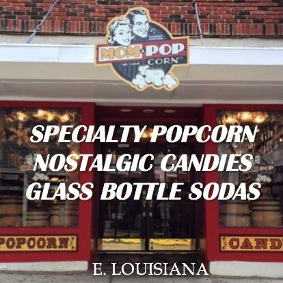 Mom & Popcorn, Downtown McKinney, Texas