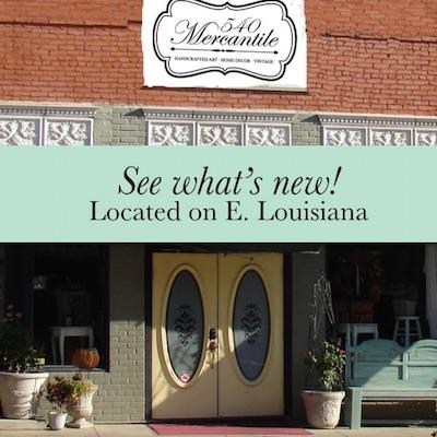 540 Mercantile, Downtown McKinney, Texas
