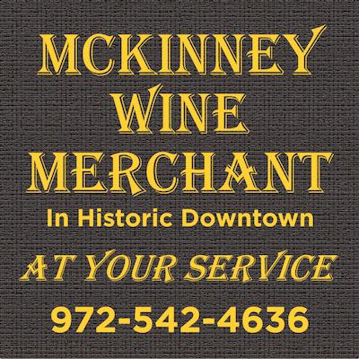 McKinney Wine Merchant, Downtown McKinney