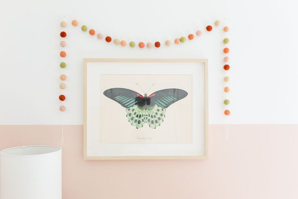 nursery butterfly artwork
