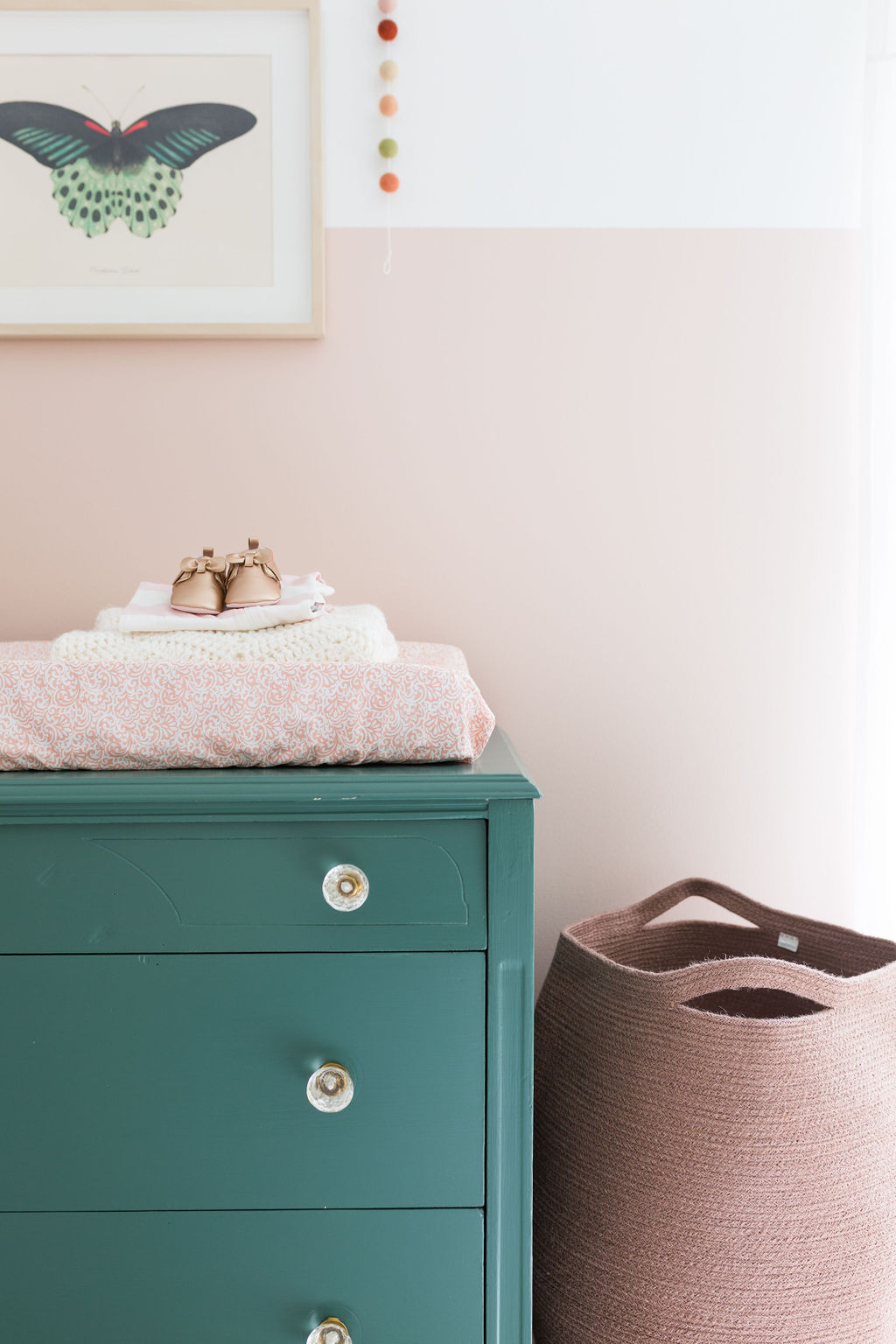 vintage dresser changing table