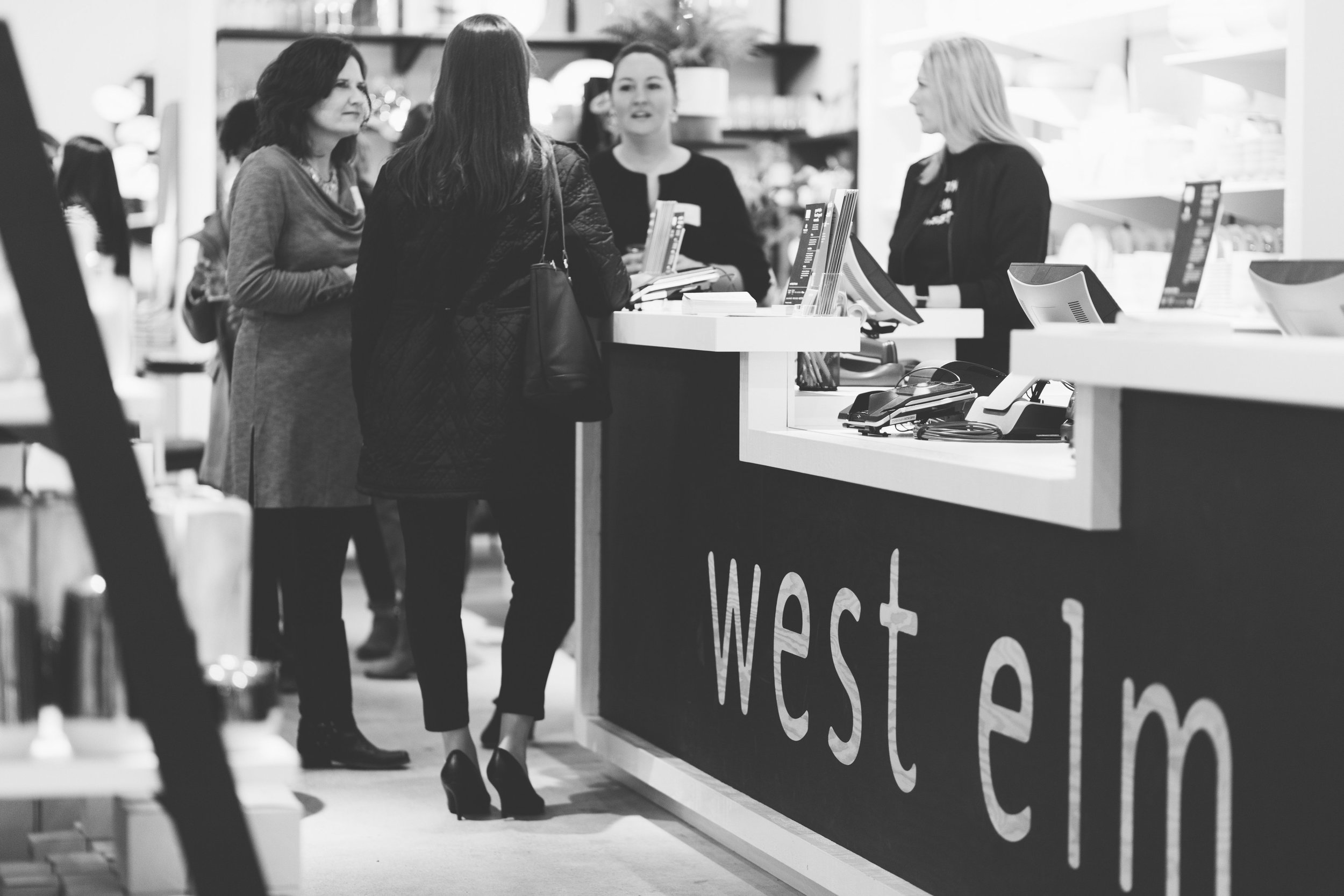 International Women's Day Panel at West Elm Carytown