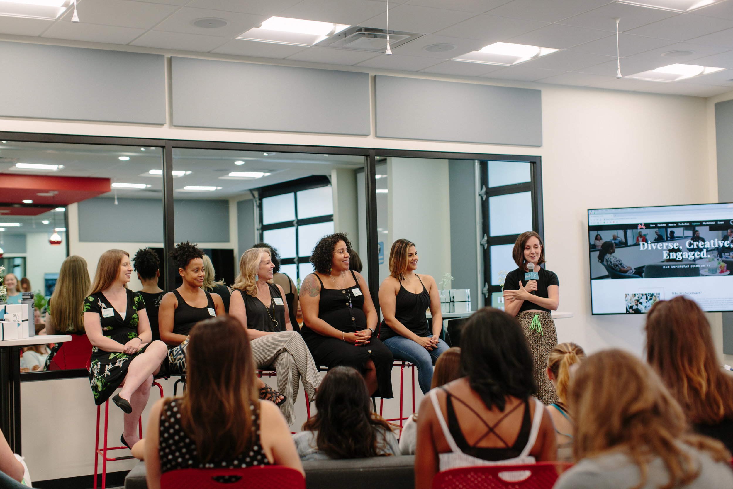 Rebelle: Women In Fitness Panel at Good Run Research