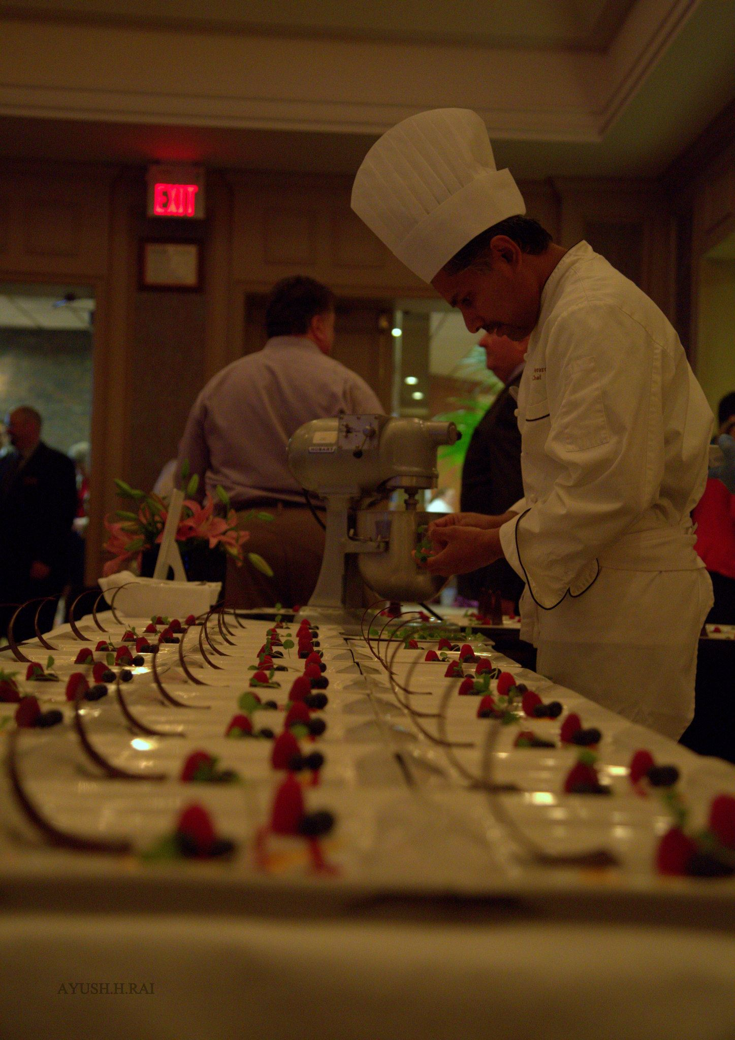 The evening is a fantastic interactive culinary experience featuring tasting stations hosted by some of the finest chefs and restaurants in the region. Each chef will be featuring their signature items as they are vying for the coveted