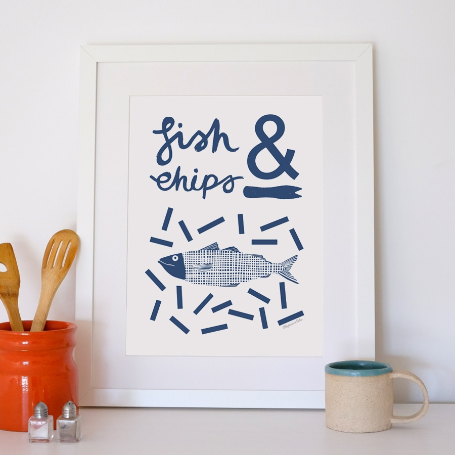 lavender and bone stephanie cole fish and chips print.jpg