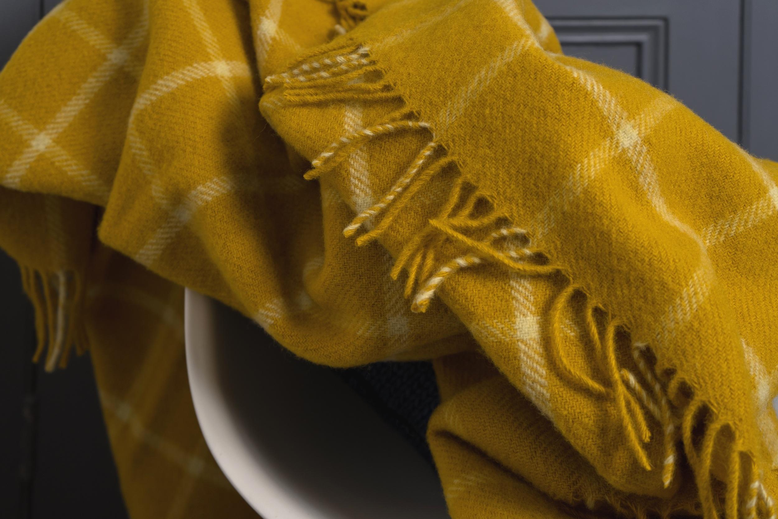 lavender and bone tweedmill textiles mustard throw.jpg