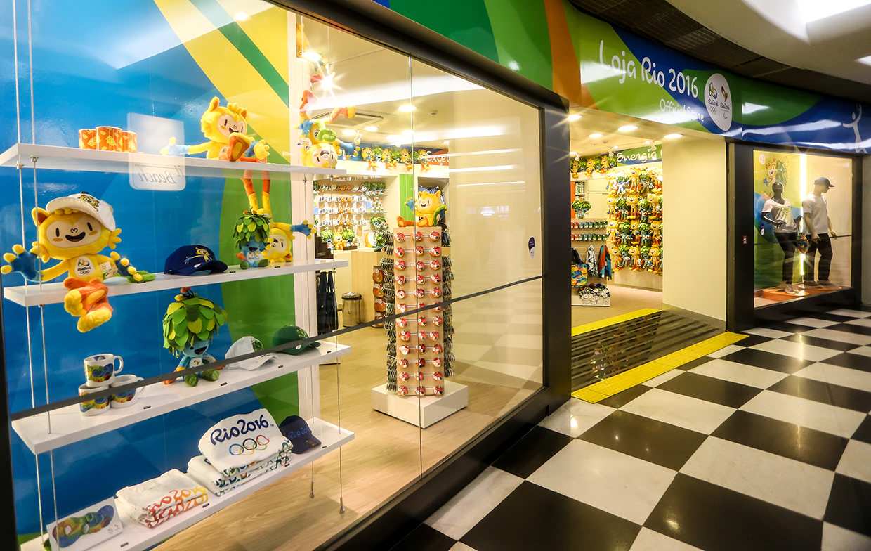 Rio 2016 Olympic Games Official Merchandise. Design, Source & Supply by BrandCo