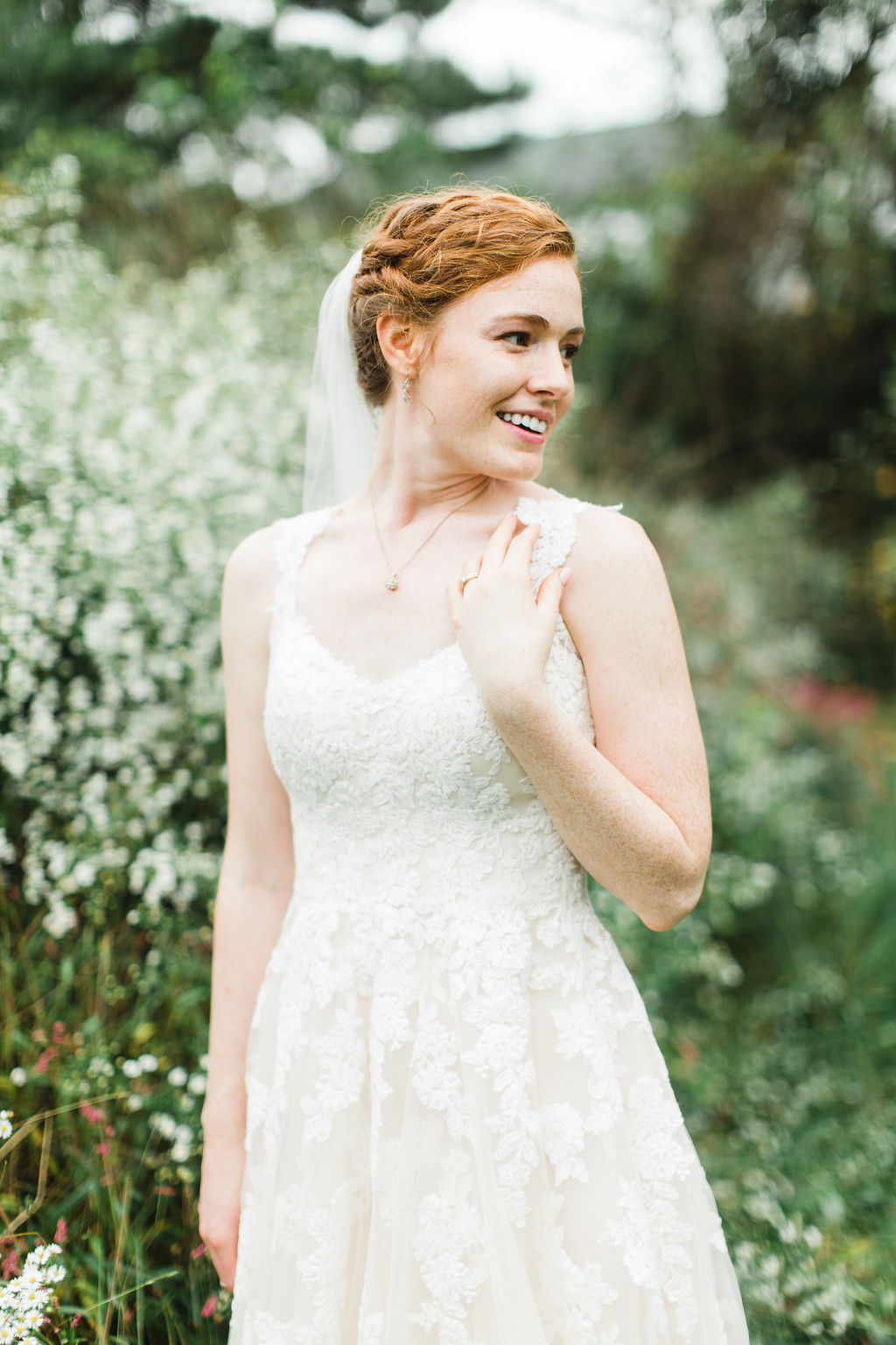 Vintage Virginia Wedding Bride Dress