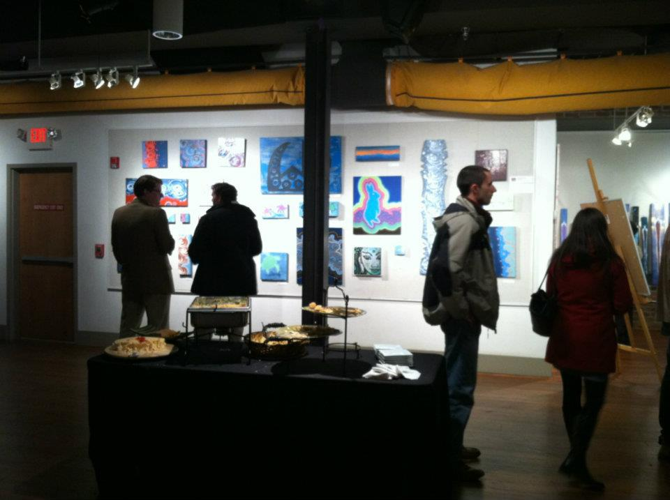 7th annual 'arts with heart' charity event the showroom @ hub-bub spartanburg, sc february 2012