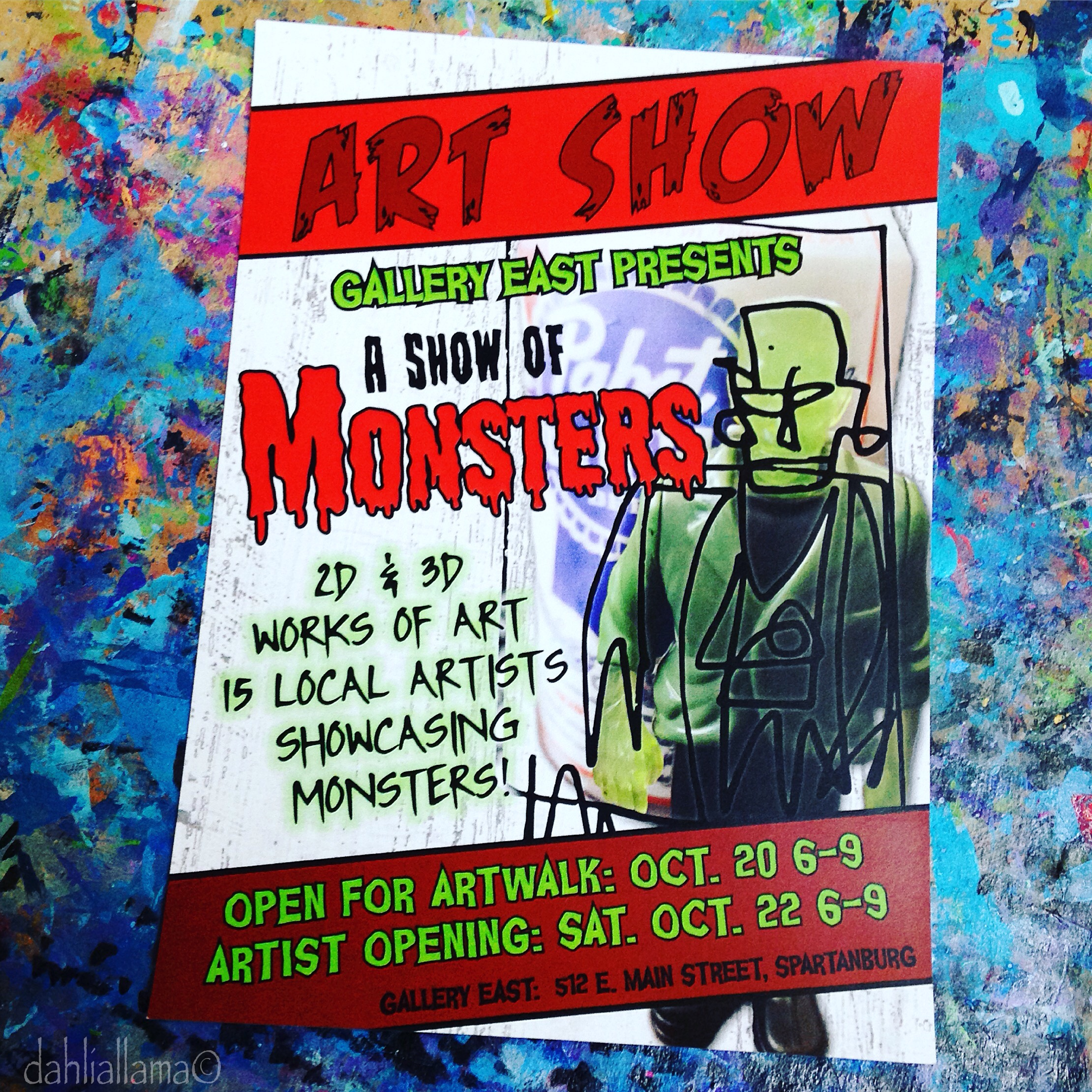 a show of monsters   gallery east october 2016
