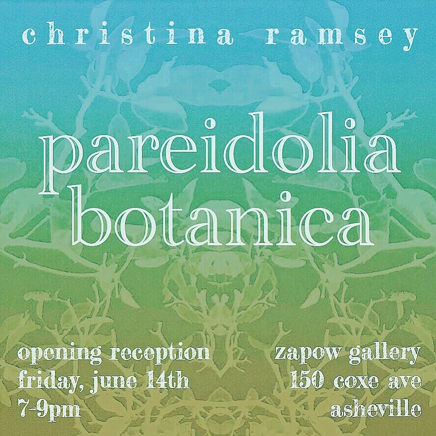 pareidolia botanica solo exhibition