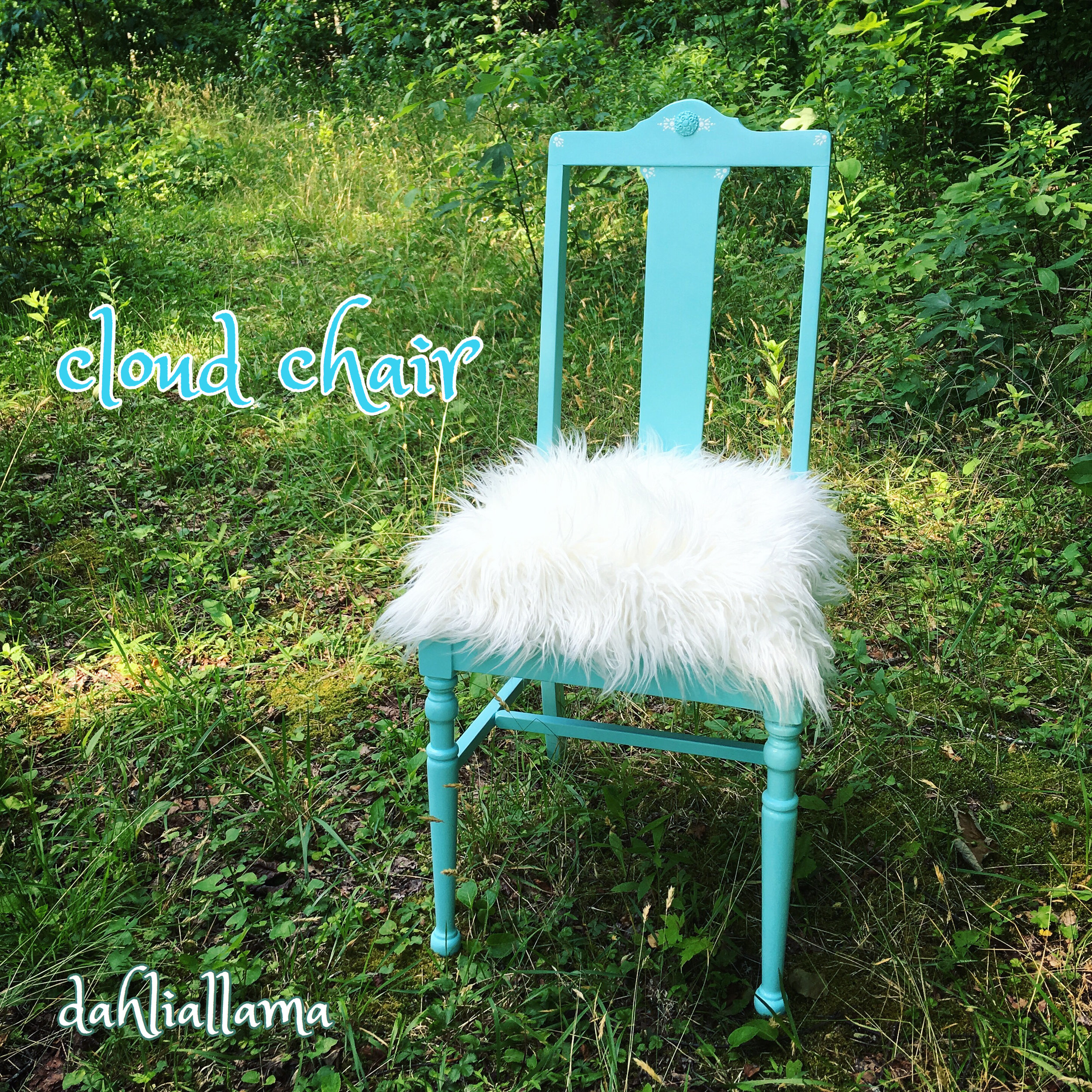 upcycled art show drayton mills spartanburg, sc june 2019   the 'cloud chair' krylon + acrylic + faux fur