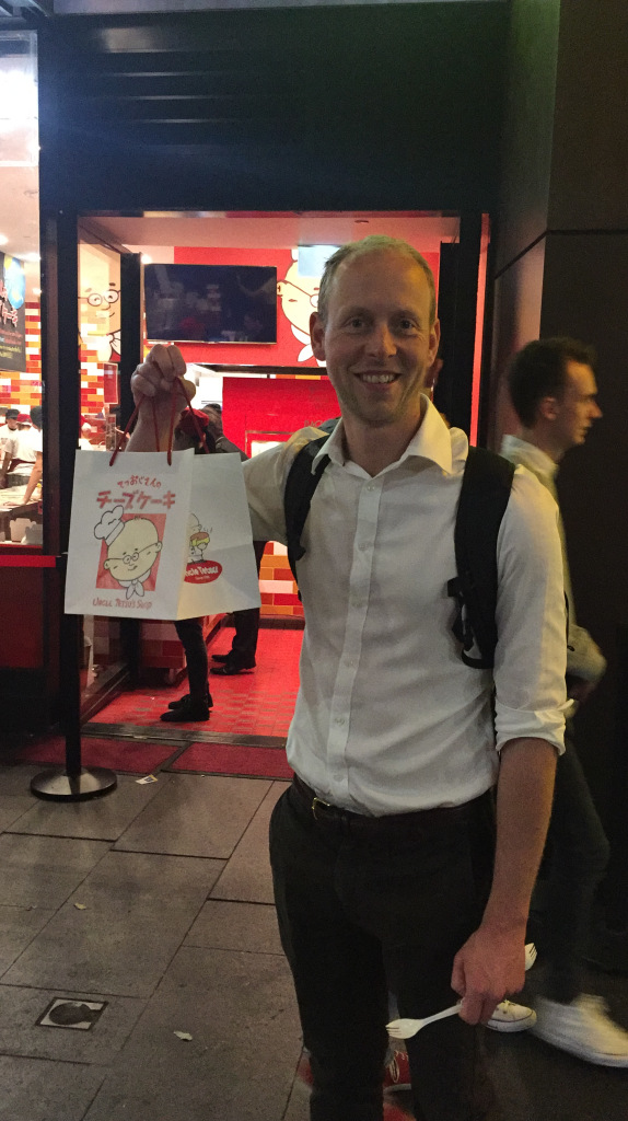 Ben with his Uncle Tetsu's haul