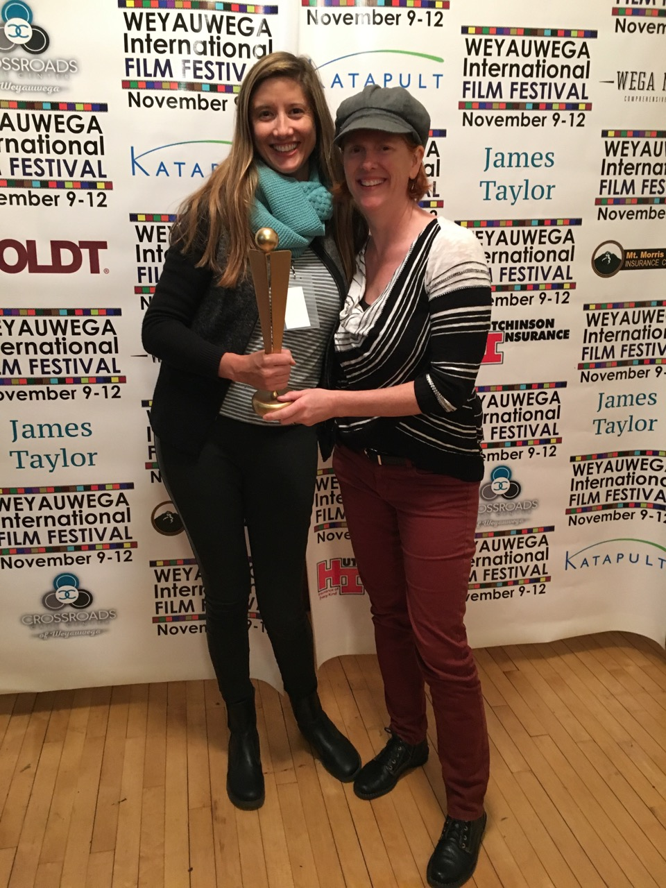 Producer Molly Hermann and Editor Kerry Sullivan