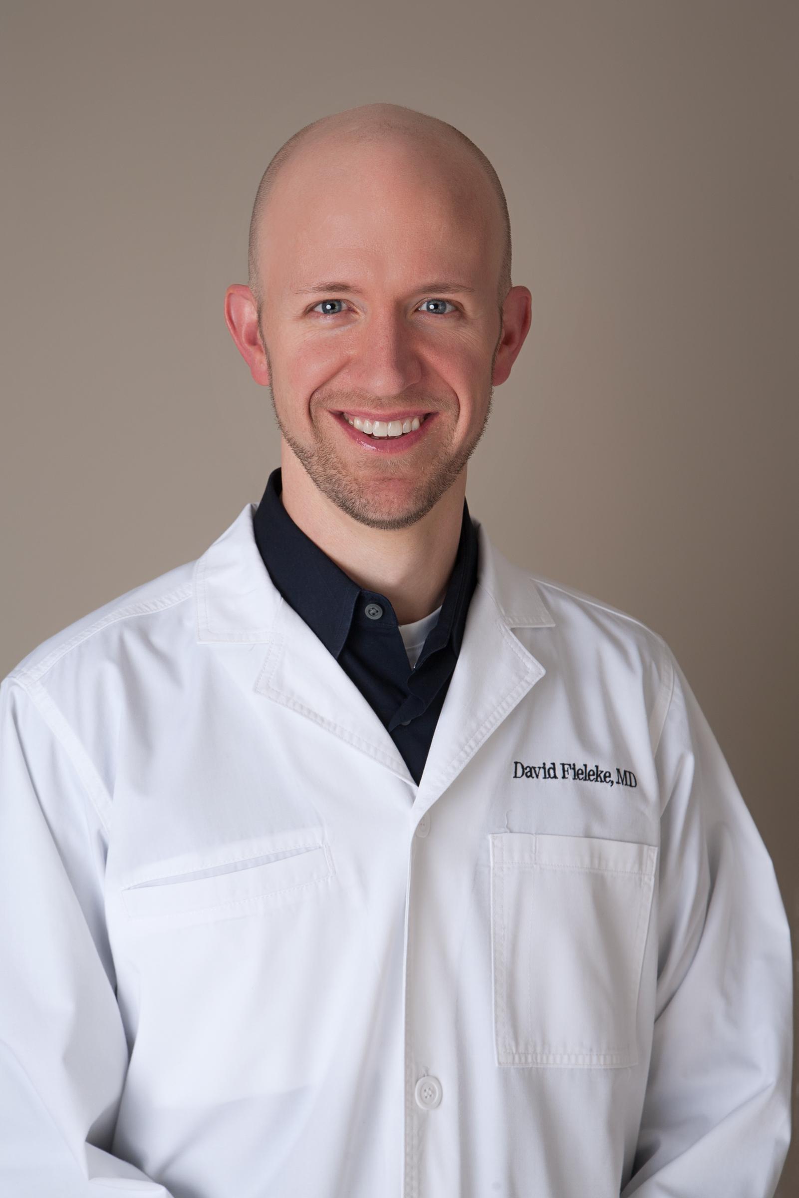 photo of Dr. David Fieleke, MD, board-certified dermatologist