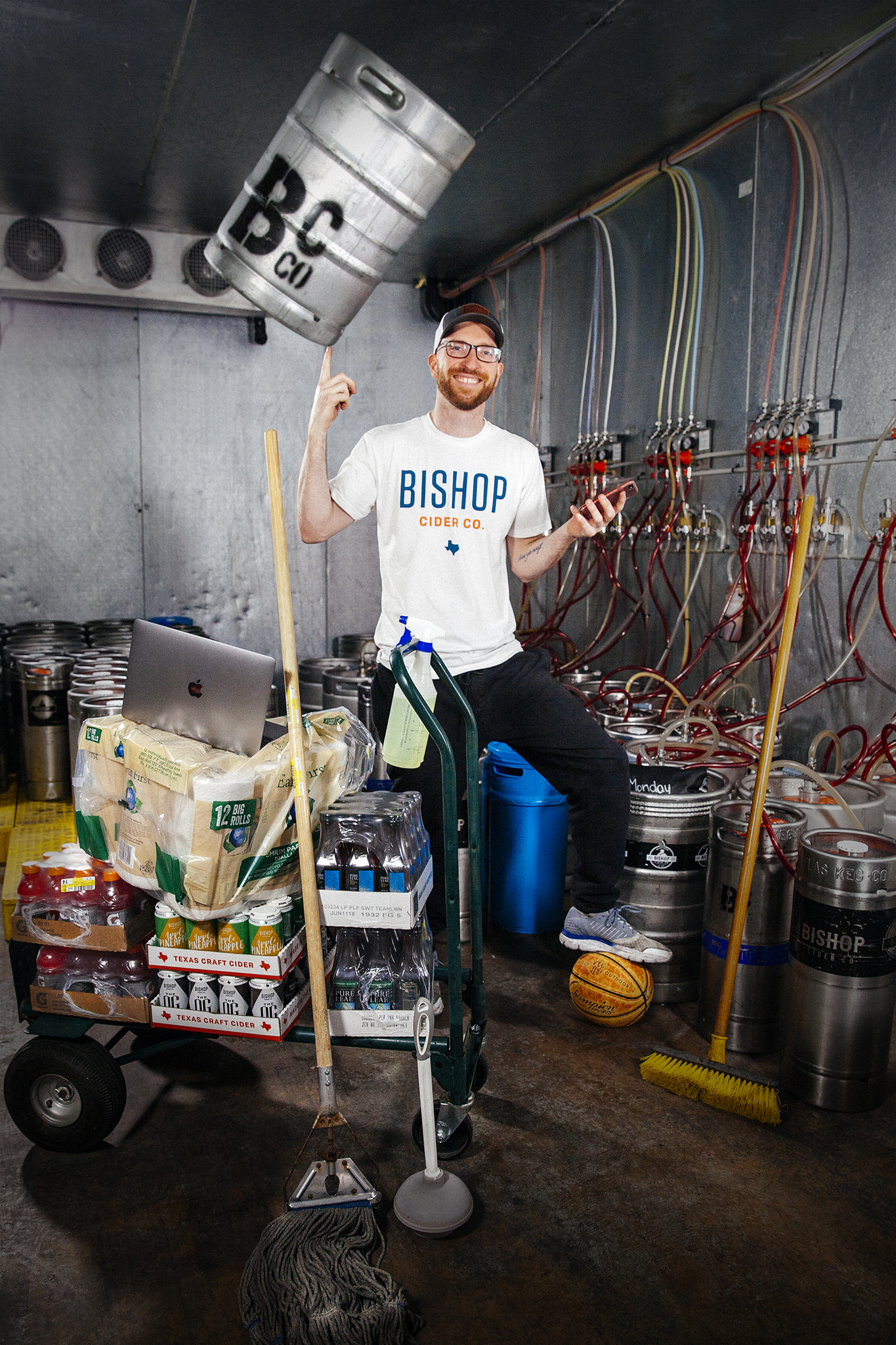 Sean Dockery // Manager of Places //  sean@bishopcider.com