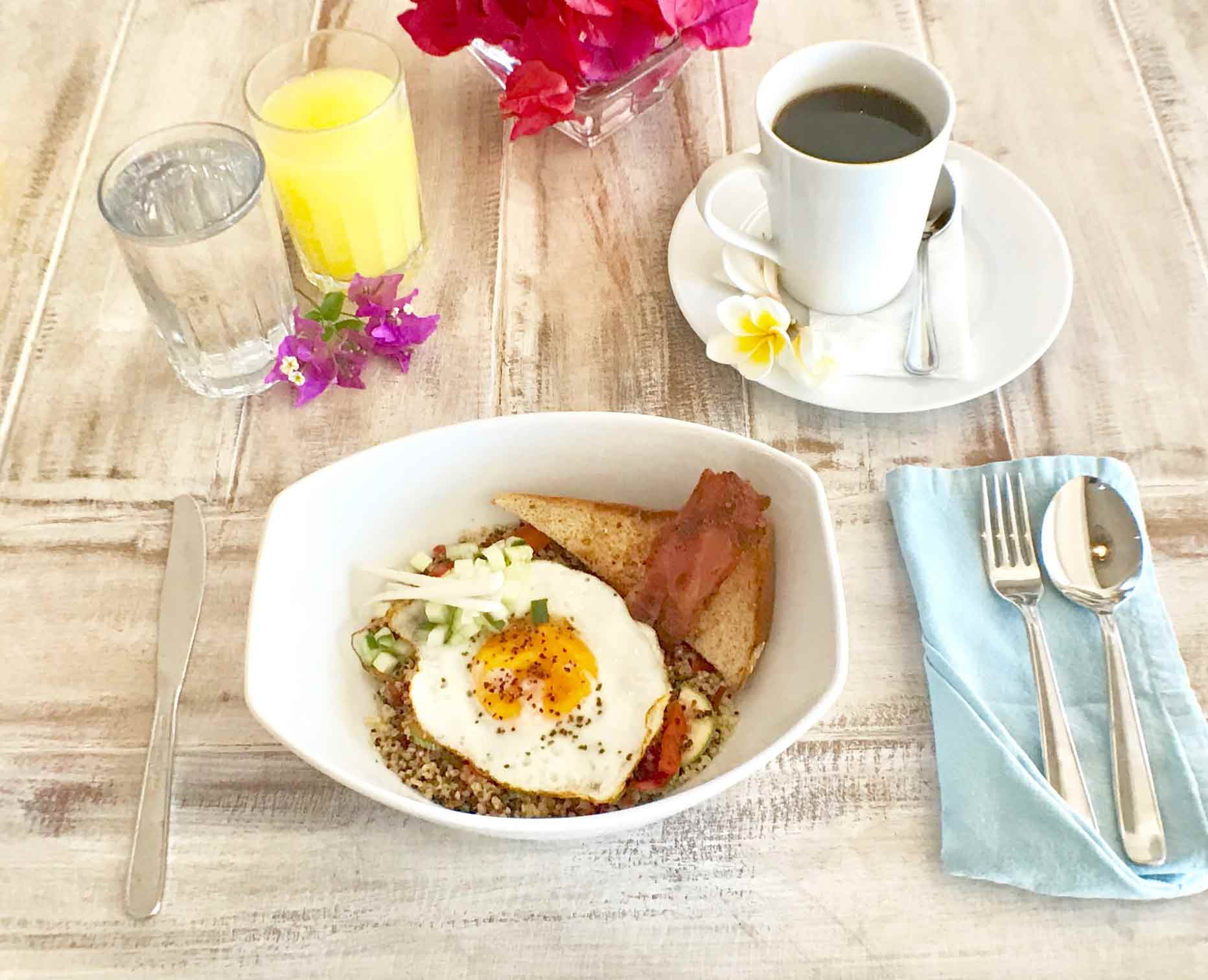 Casa Coco Organic Breakfast