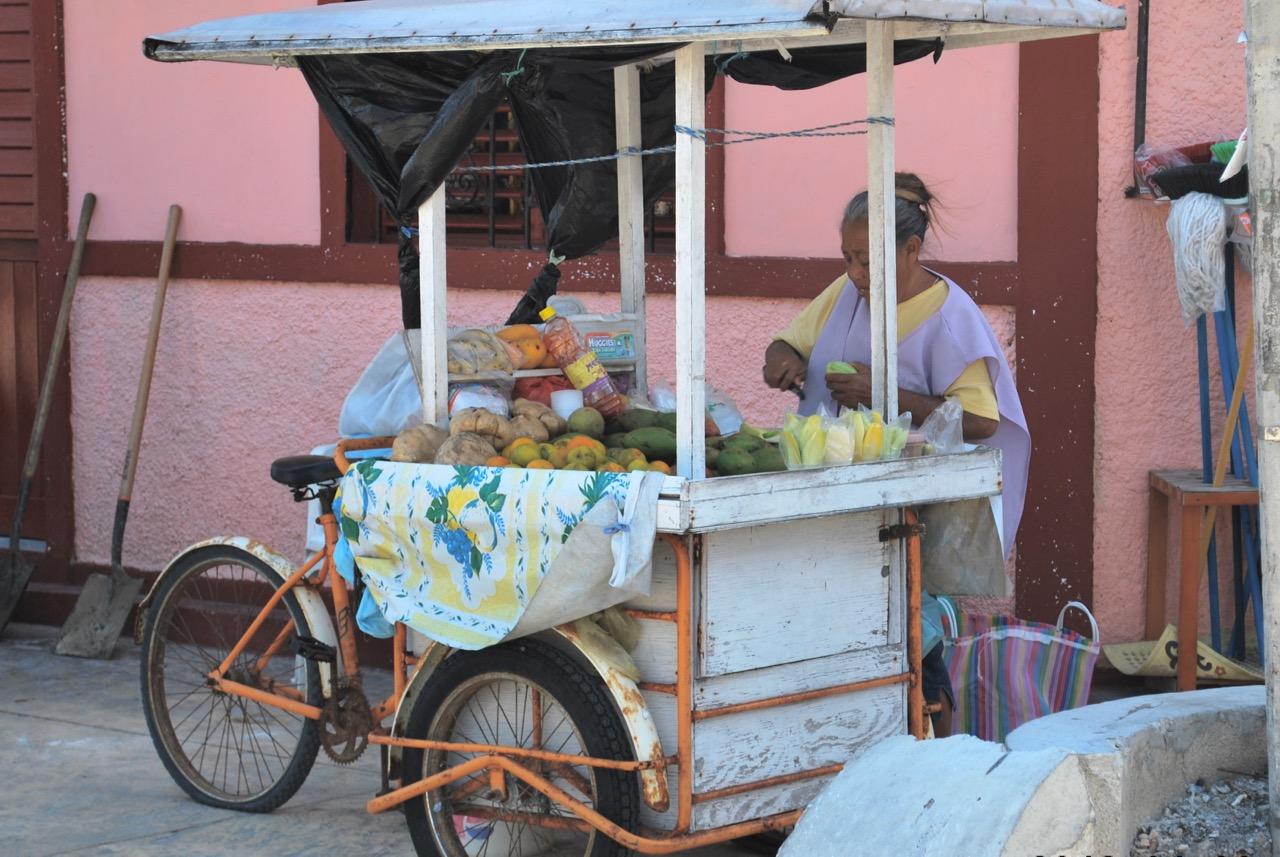 Isla Mujeres Fruit Cart