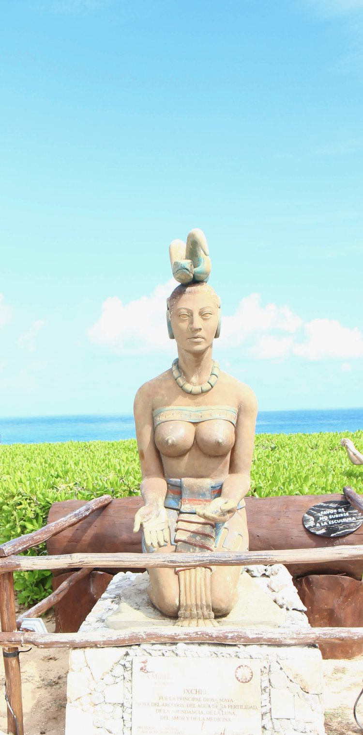 Isla Mujeres Goddess of Fertility