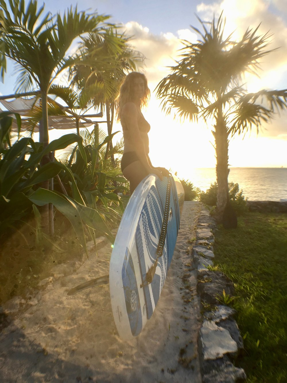 Coco B Sunset Paddleboard