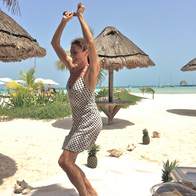 Isla Mujeres Beach Dancer
